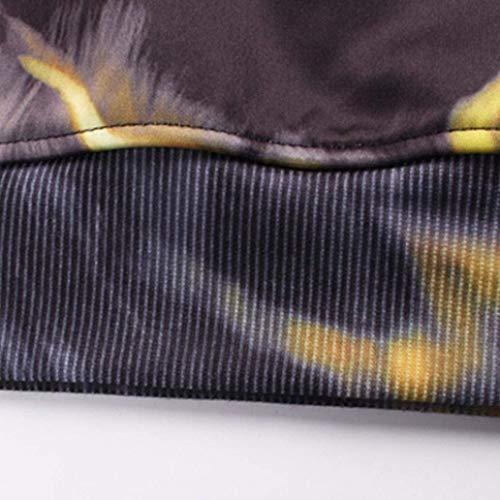Elásticos Para Largos Slim Moda Cómodo Negro 3d Battercake Hombre Deportivos Fit De Pantalones Impresos q0FwxZAx5
