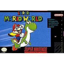 Super Mario World Super Nintendo NES Game Series Box Art Yoshi Luigi Princess Peach Poster - 12x18