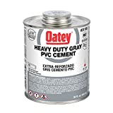 Oatey 31105 PVC Heavy Duty Cement, Gray, 32-Ounce
