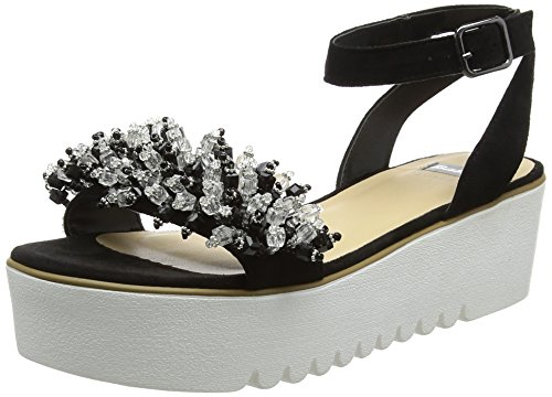 6 669283 WoMen Nero BATA Sandals Black Platform xXw5qqdY