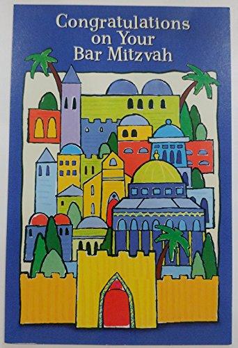 Congratulations on Your Bar Mitzvah Greeting Card - Jewish Milestone -