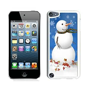 Personalized Christmas snowman White iPod Touch 5 Case 15