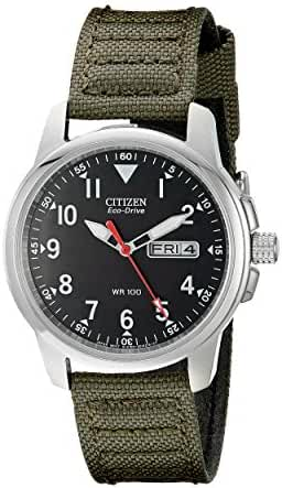 Citizen Men's BM8180-03E Eco-Drive Analog Japanese Quartz Green Watch