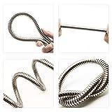 Cesun 3 Feet Metal Garden Hose, Short Connector