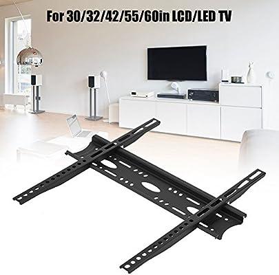 Soporte de Montaje en Pared para TV, Montaje en Pared para TV sin caída, para televisores LCD/LED de 30/32/42/55/60 Pulgadas: Amazon.es: Electrónica