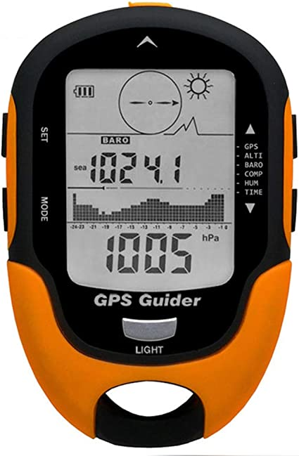 Amazon.com : PINGTANG Military Mountaineering Watch, Multifunction  Barometer Digital Altimeter Compass Thermometer Hygrometer Weather Forecast  LED Torch Flash Wristwatch for Hiking Camping : Sports & Outdoors