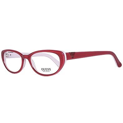bellissimo aspetto ordine più amato Guess Brille GU2296 52O92 Montature, Rosso (Rot), 52 Donna: Amazon ...