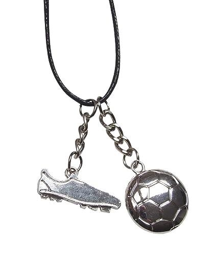 Générique Collar con Colgante de Crampón y balón de fútbol ...