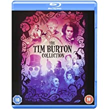 Tim Burton Collection - 8-Disc Box Set ( Batman / Batman Returns / Beetlejuice / Mars Attacks! / Pee-wee's Big Adventure / Charlie and the Chocolate Fact