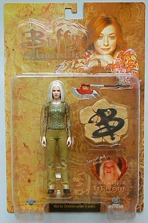 Buffy the Vampire Slayer - International Exclusive - White Witch Willow - Limited Edition - Action Figure from 2004 by Buffy the Vampire Slayer