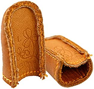 Clover Natural Fit Leather Thimble Large | 306030