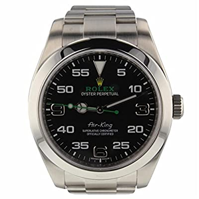 Rolex Air-King Automatic-self-Wind Male Watch 116900 (Certified Pre-Owned) by Rolex