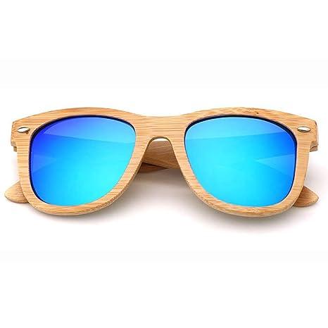 Y&J Gafas de Sol al Aire Libre de bambú GH-PH, Gafas de Sol ...