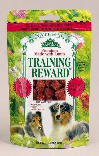 Cardinal Laboratories Pet Botanics Training Rewards Treats, Lamb, 3.5 Ounces