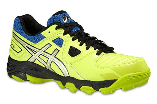 Asics - Zapatillas de running de Material Sintético para niño amarillo Bright Yellow