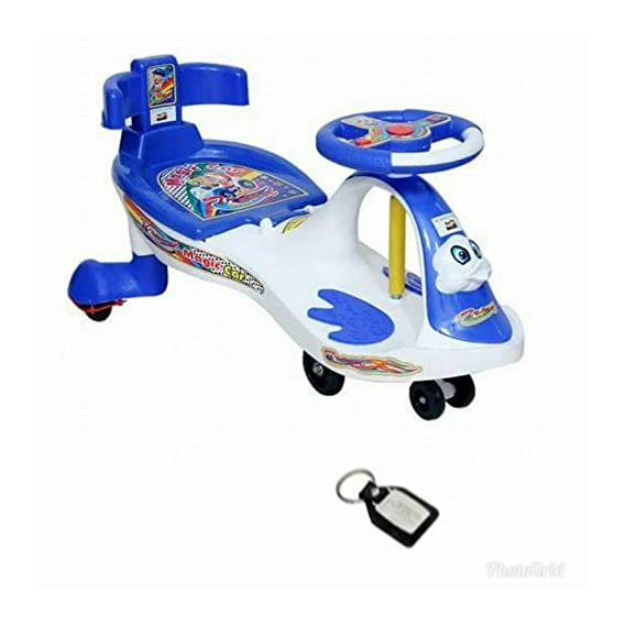 HH Baby Magic CAR 7811 White (with Back Support) Free KHY Chain