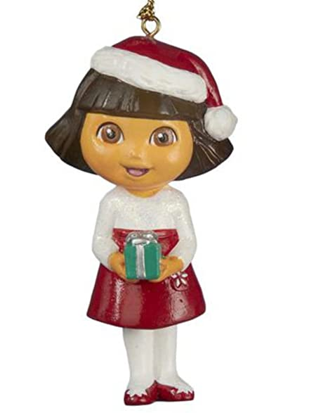 Amazoncom Nickelodeon Dora the Explorer Christmas Ornament Dora