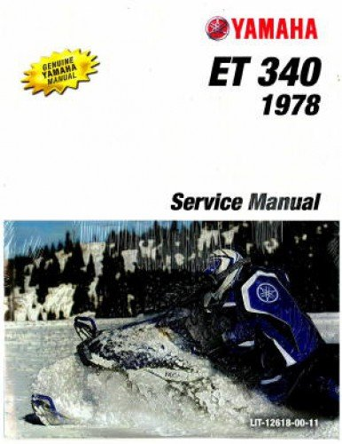 Yamaha enticer trainers4me lit 12618 00 11 1978 yamaha enticer et340 snowmobile service manual asfbconference2016 Image collections