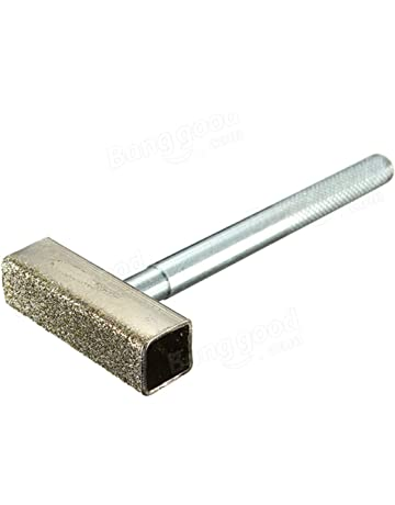 Emivery Grinding Wheel Dresser, 1 Piece Grinding Wheel Dresser with Flat Diamond Coated Surface ,