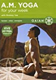 A.M. (Am) Yoga For Your Week Rodney Yee DVD - region 0 worldwide