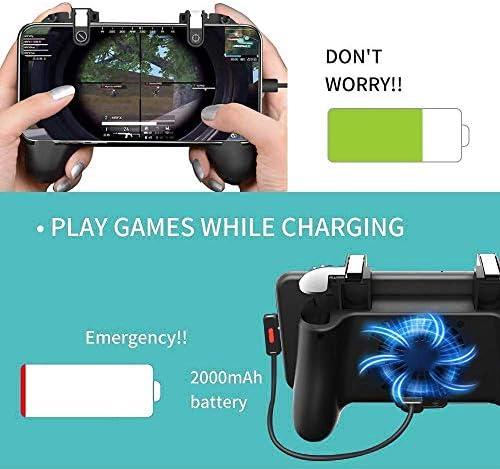 Manette de jeu mobile 5 en 1 pour PUBG - Actualités des Jeux Videos