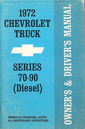 Series 70 90 Diesel Owner's Manual ()
