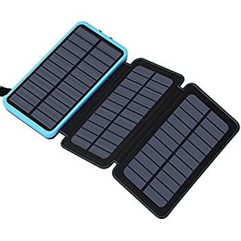 Amazon Com Solar Charger 24000mah Feelle Portable