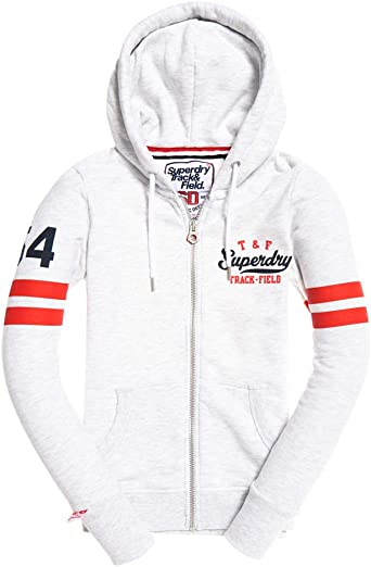 Superdry Track and Field Ziphood Pull Femme