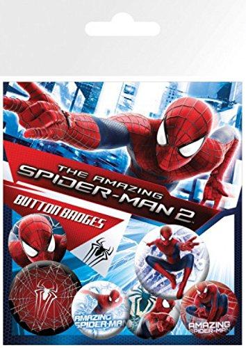15x10 Electro de 2 Rise 25 1art1 cm Pegatina man 32 x y Of de Paquete 4 insignias mm 2 Amazing The Spider 1x sorpresa Set mm P66qwa18