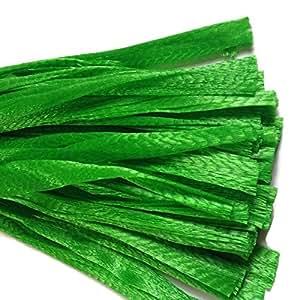 sajid store 20 green 100 reusable nylon poly mesh net bags for produce fruit. Black Bedroom Furniture Sets. Home Design Ideas