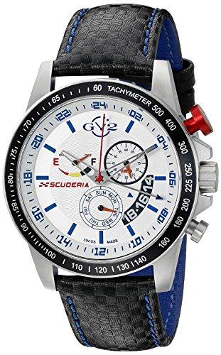 GV2 by Gevril Scuderia Mens Chronograph Swiss Quartz Alar...