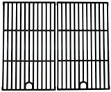Music City Metals 69892 Gloss Cast Iron Cooking Grid Replacement for Backyard Grill BGB390SNP (Set of 2)
