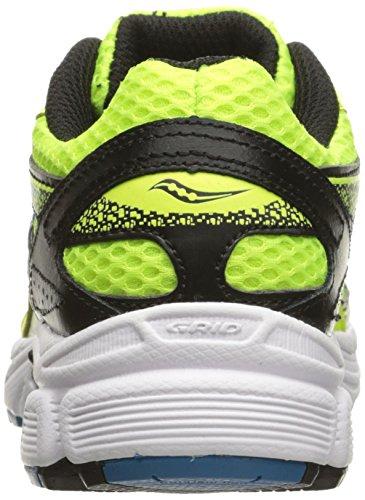 Blue Kid Cohesion 9 Sneaker Black Kid Lace Saucony Citron Little Big qv0SBBwn