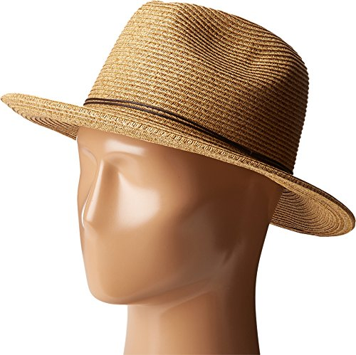 - SCALA Women's Paper Braid Safari with Metal Toast Hat