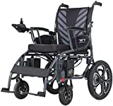 ComfyGO Electric Power Wheelchair Scooter Fold & Travel Lightweight Folding Safe Electric Wheelchair Motorized FDA Approved Aviation Travel Heavy Duty Power Wheelchair (Transformer)
