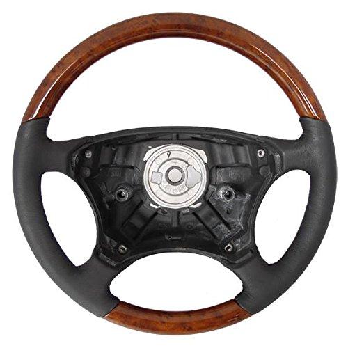 Mercedes W220 Classic Steering Wheel LIGHT WOOD