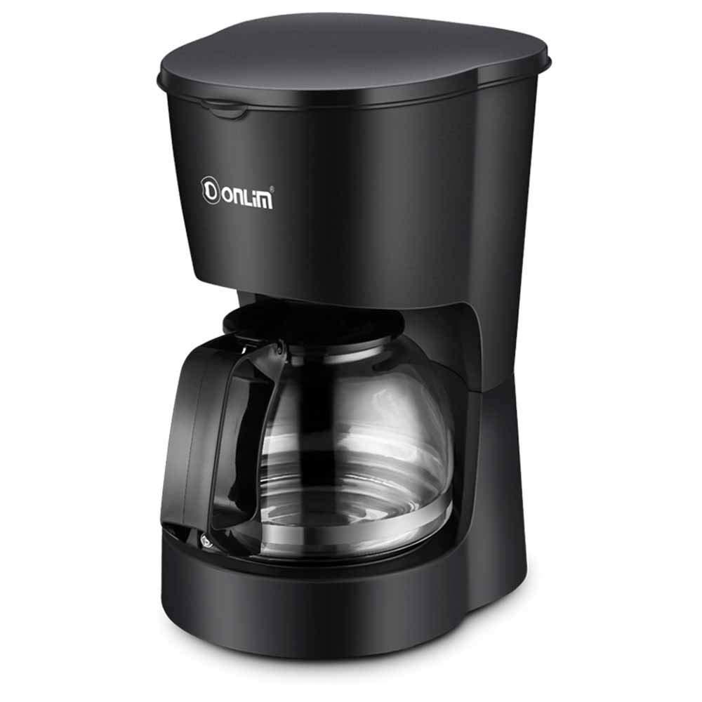 Acquisto HM2 Caffettiera Completa da 10 Tazze, Macchina da caffè Automatica a Goccia Automatica in Acciaio Inox, Nera Prezzi offerta