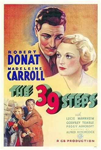 Amazon.com: The 39 Steps POSTER Movie (27 x 40 Inches - 69cm x 102cm)  (1935): Posters & Prints
