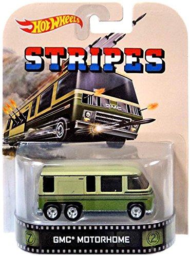 Hot Wheels Stripes GMC Motorhome Die-Cast Retro Entertainment Series Gmc Motorhome