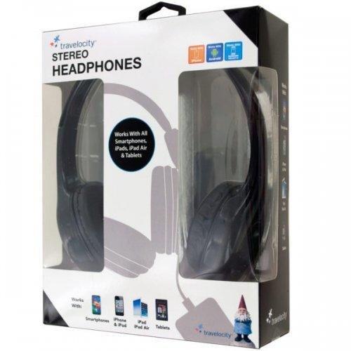 bulk-buys-wired-travelocity-padded-stereo-headphones-black