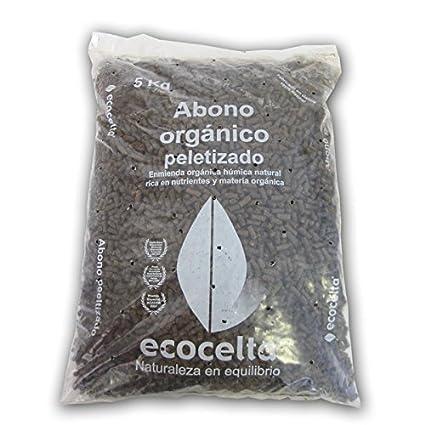 Ecocelta Abono Orgánico de 5 kg, Negro, ZA33