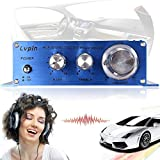 AUDEW 180W 2CH 12V Small Stereo High Power Amplifier Booster Radio MP3 Stereo for Car Motorcycle Home