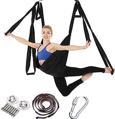 Correa de yoga para yoga, manija, tela de paracaídas ...
