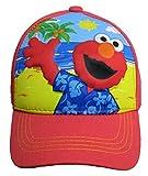 Sesame Street Elmo on The beach Red Baseball Cap – Boys' Size 4-14