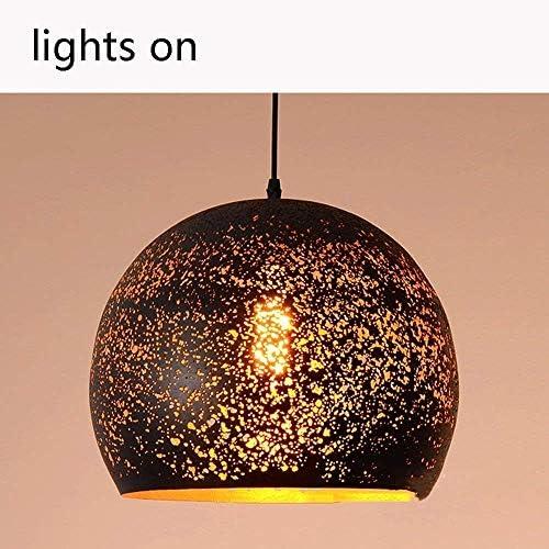 Ceiling Lamp Chandelier Single Head Industrial Iron Art Light Black Sizes Optional for Bedroom, Dining Room, Living Room, Bar, Restaurant, Home Decor
