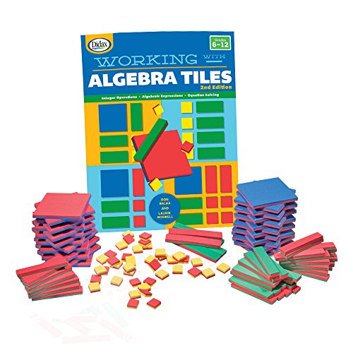 EAI Education Algebra Tiles Classroom Kit
