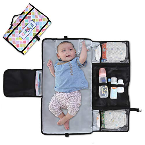 Portable Baby Diaper Changing Pad: Compact and Waterproof Travel Changer Mat