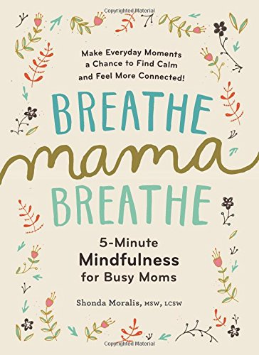 Breathe, Mama, Breathe: 5-Minute Mindfulness for Busy Moms cover