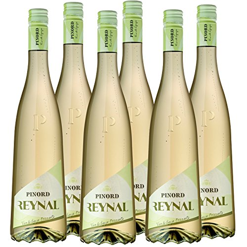 Pinord Vino de Aguja Blanco Espumoso - Paquete de 6 x 750 ml - Total: 4500 ml: Amazon.es: Alimentación y bebidas