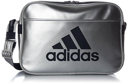 Adidas Shoulder bag Light enamel M (current model) (Matt Silver/College Navy)